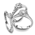 Platinum & Diamond 0,30ct - 1.00ct