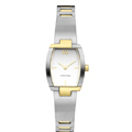 Ladies Titanium & ION Plated Gold Watch
